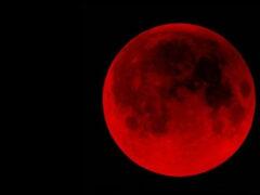 В ночь на 28 сентября люди смогут увидеть полное затмение Луны