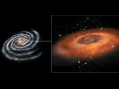 Черная дыра в центре нашей галактики проявляет необычную активность
