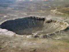 Швеция: обнаружен огромный древний двойной кратер