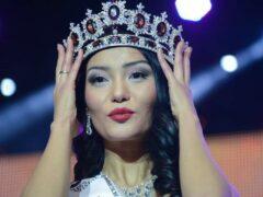 Мисс Казахстан-2013 Айдай Исаева родила сына