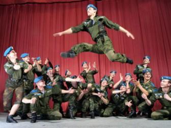 пляска Российской Армии