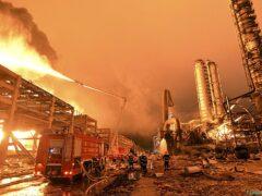 Взрыв произошел на химическом заводе на востоке Китая