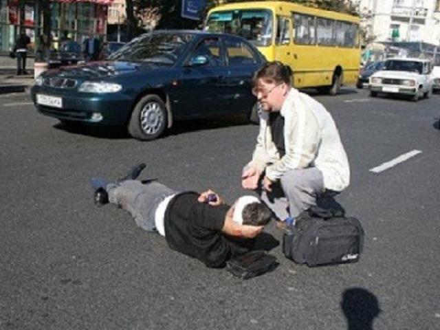 сбитый пешеход ушел что делать нашими