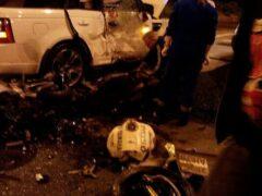 Мотоциклист погиб в ДТП с внедорожником на Пискаревском проспекте в Петербурге