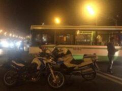 В центре Москвы в аварии с участием автобуса и мотоцикла погиб байкер