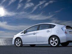 Презентация новоиспеченной Toyota Prius состоялась во Франкфурте