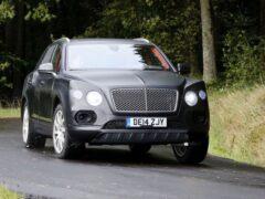 Bentley Bentayga — самый быстрый кроссовер в мире