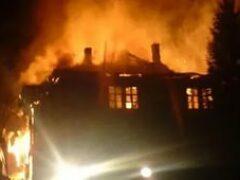 Мать и сын погибли при пожаре в Мостовском районе