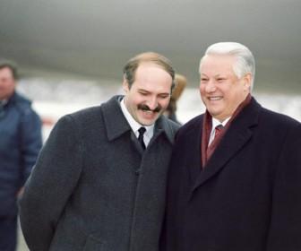 Лукашенко Ельцин