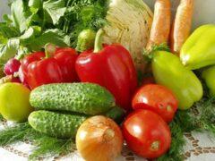 Счастье человека зависит от количества овощей и фруктов в питании