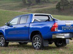 Toyota представит европейскую версию пикапа Hilux