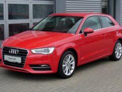 Компания Audi отмечает 20-летний юбилей семейства A3