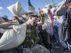В США во время боя подушками пострадали 30 курсантов военной академии