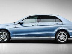 Знакомьтесь: роскошная версия Mercedes-Maybach E-Class
