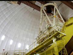 Российские астрономы ищут астероиды с помощью телескопа в Австралии
