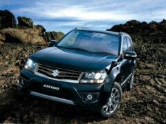 Концерн Suzuki начал продажи нового компакт-кроссовера Escudo