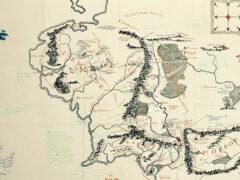 Найдена карта Средиземья с комментариями Толкина