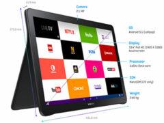 Samsung представил новый 18-дюймовый планшет Galaxy View