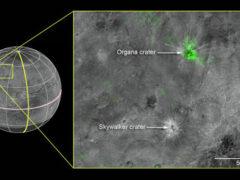 New Horizons нашел следы вулканизма в уникальном кратере на Хароне