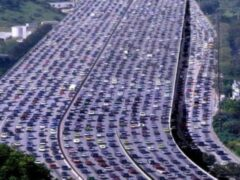 Пробка почти в 11 километров зафиксирована в Москве