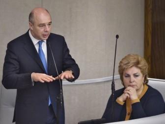 Антон Силуанов и Татьяна Нестеренко