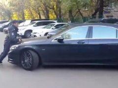 В Москве задержан напавший на полицейского охранник водителя Ferrari