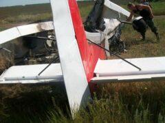 Два человека погибли при крушении самолета в Англии
