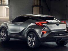 Toyota покажет конкурента Nissan Juke весной 2016 года