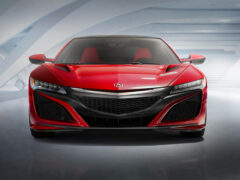 Acura объявила характеристики суперкара с 4 моторами