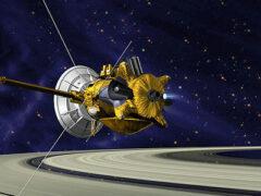 Зонд Cassini нырнет в струи фонтана, вырывающиеся со спутника Юпитера