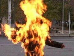 В Челябинской области заживо сожгли человека