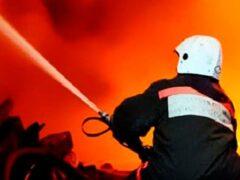 На юге Москвы при пожаре в кафе обрушилась крыша