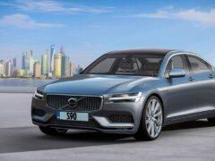Volvo показала концепт Costello нового флагманского седана S90