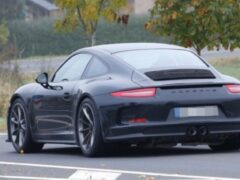 На тестах замечен Porsche 911 R 2017 модельного года
