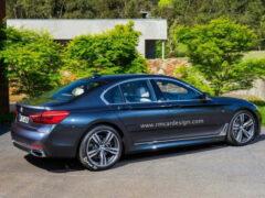 В Сети появился первый рендер нового BMW 5-Series студии RM Design