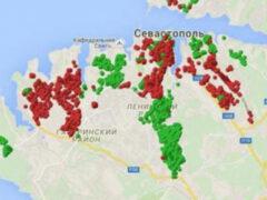 В Севастополе был создан сервис слежения за светом в городе