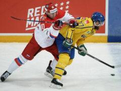 Российские хоккеисты обыграли шведов в матче «Кубка Карьяла»