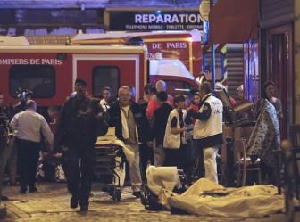 Париж теракты