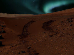 На Марсе обнаружен новый вид полярных сияний