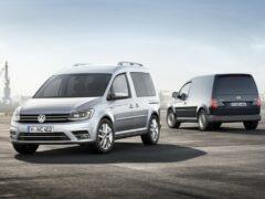 Volkswagen объявил рублевые цены на Caddy с новым двигателем