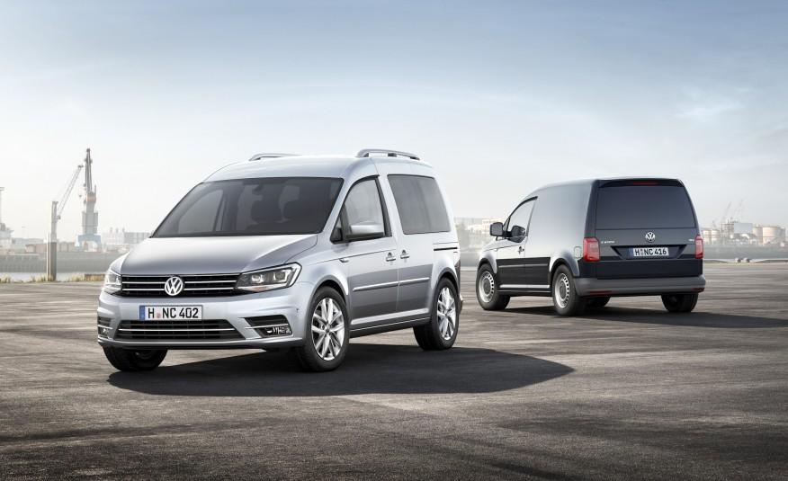 Стартовало производство новых Caddy с бензиновыми двигателями 1.6 MPI