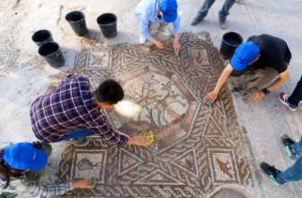 мозаика старинная