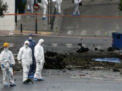 Взрыв бомбы прогремел в деловом центре Афин