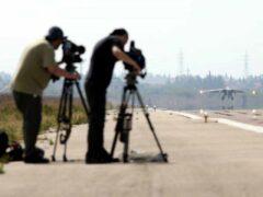 Российскую авиабазу в Латакии посетили 50 журналистов из 12 стран