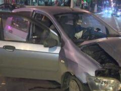 Нетрезвый прапорщик устроил ДТП в Москве, два человека пострадали