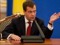 Медведев рассказал о «нулевой» возможности не запрещать украинскую еду