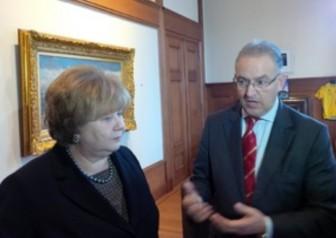 Казанская и мэр Роттердама