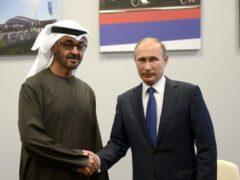 Владимир Путин обсудил с принцем Абу-Даби операцию ВКС РФ в Сирии
