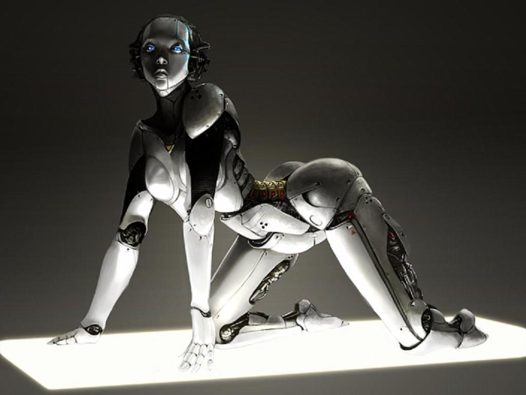 Смотреть секс с роботами 4 фотография