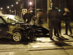 Полицейский на BMW устроил смертельное ДТП под Москвой